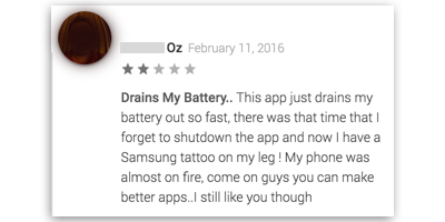 Battery Historian - Understanding battery usage in your android app - App Reviews