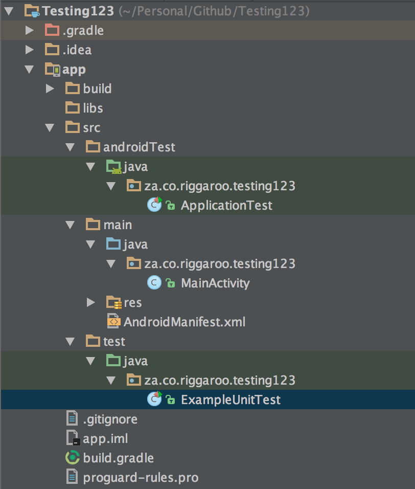 Automated testing in Android